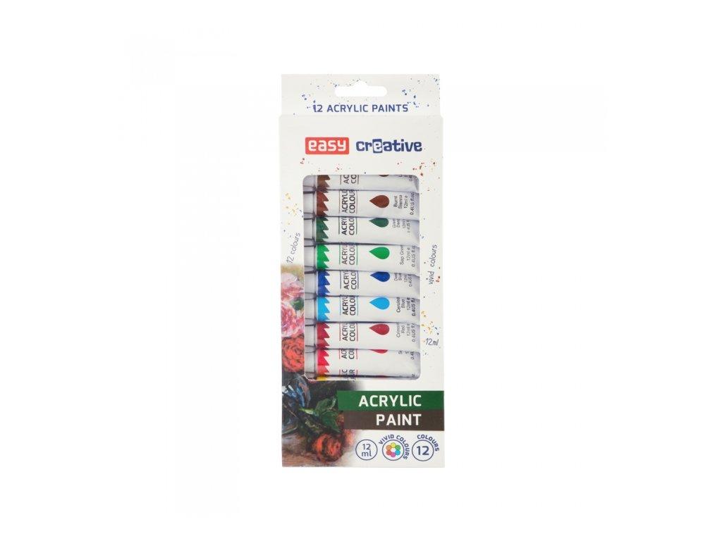 12416 akrylove barvy easy 923452 sada 12 barev