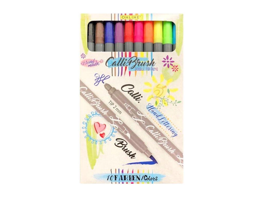 calli brush 10 colours