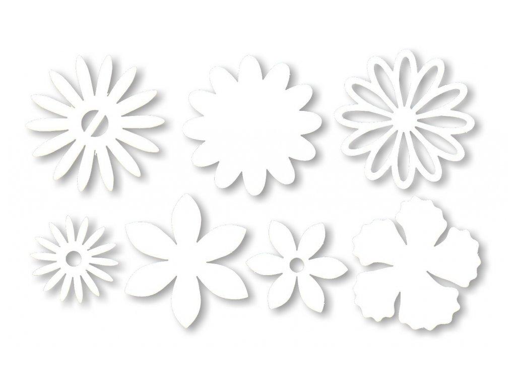14126 vyrez karton kvetiny mix