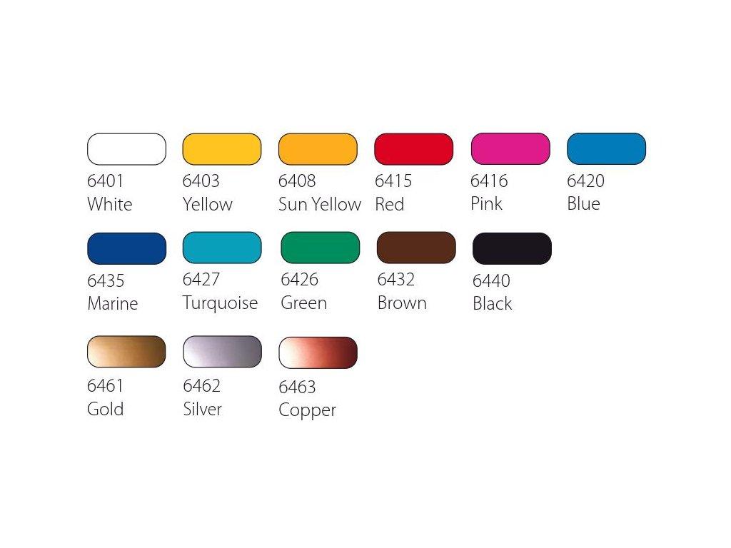 schjerning lino barva 250 ml cervena