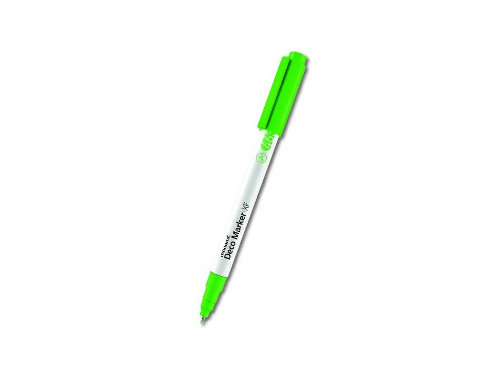 monami deco marker xf 463 green fluo