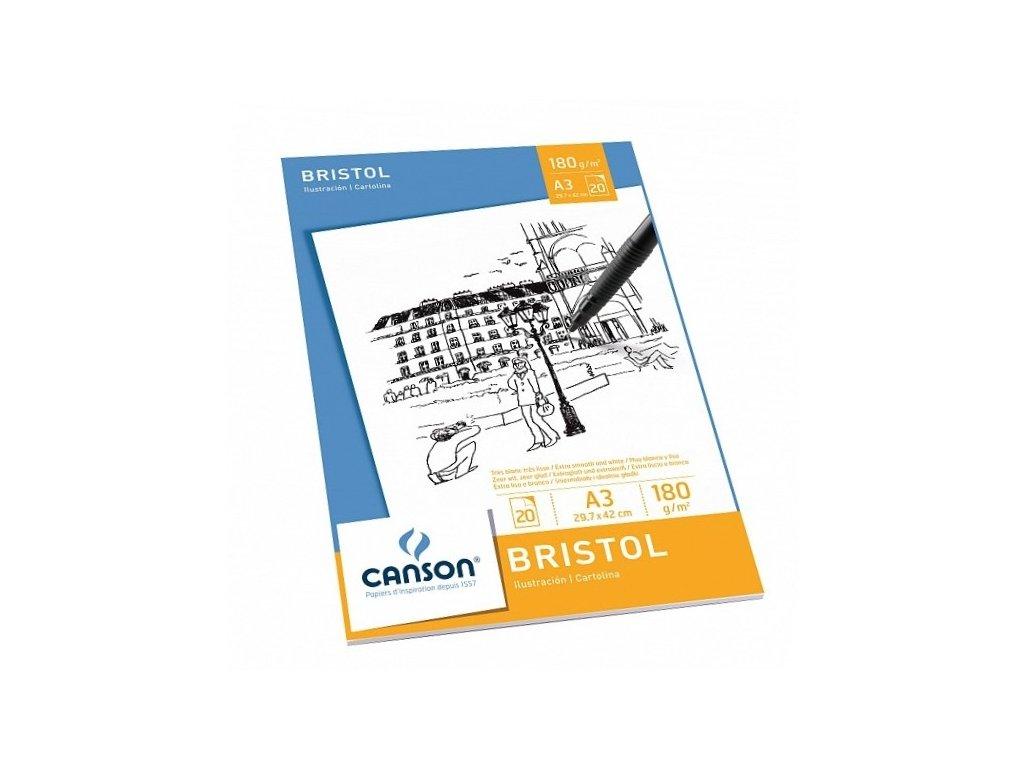 34422 canson bristol a3 blok graficky hladky
