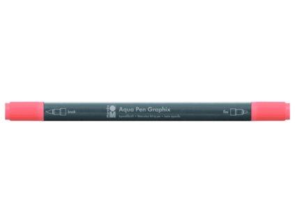 452 1 akvarelovy fix oboustranny aqua pen graphix hneda jantarova 017