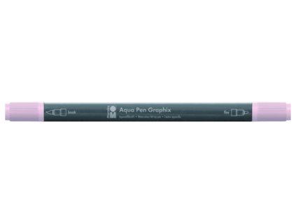 461 1 akvarelovy fix oboustranny aqua pen graphix ruzovo bezova 029