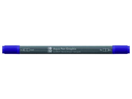 470 1 akvarelovy fix oboustranny aqua pen graphix fialova svestkova 037