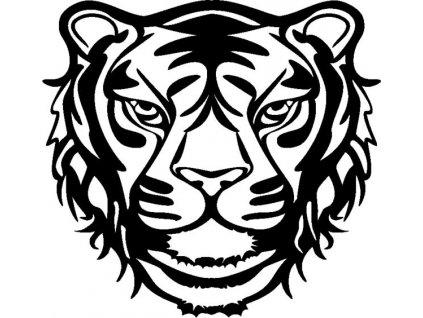 Šablona Marabu pro Fashion sprej 30x30cm - Divoký tygr