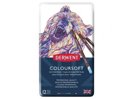 1316 2 umelecke pastelky coloursoft extra syte barvy 12 barev