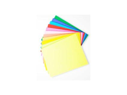 1385 kancelarsky papir a4 80g barevny sada 10x10 listu