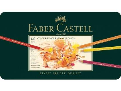 1940 4 umelecke pastelky faber castell polychromos 110011 sada 120 barev