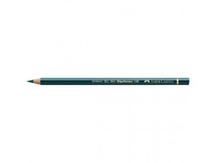 2198 2 faber castell polychromos umelecka pastelka 158 deep cobalt green