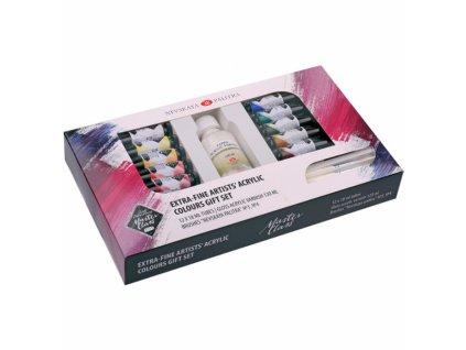 2501 olejove barvy mistrovske nevskaya palitra 12 x 18 ml