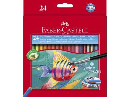 2507 2 pastelky akvarelove 24 barev faber castell