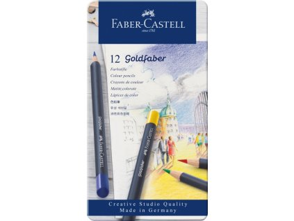 2525 3 pastelky goldfaber 114712 sada 12 barev