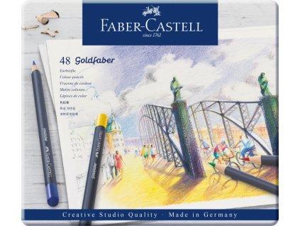 2534 3 pastelky goldfaber 114748 sada 48 barev