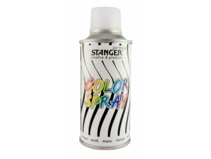 2537 akrylova barva ve spreji stanger color spray 150 ml bily