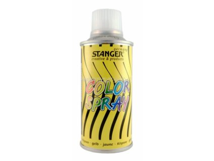 2564 akrylova barva ve spreji stanger color spray 150 ml zluty