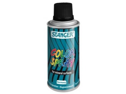 2570 akrylova barva ve spreji stanger color spray 150 ml tyrkys
