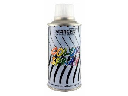 2573 akrylova barva ve spreji stanger color spray 150 ml modry svetle