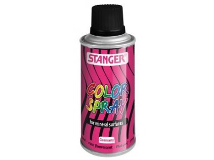 2591 akrylova barva ve spreji stanger color spray 150 ml fluo ruzovy