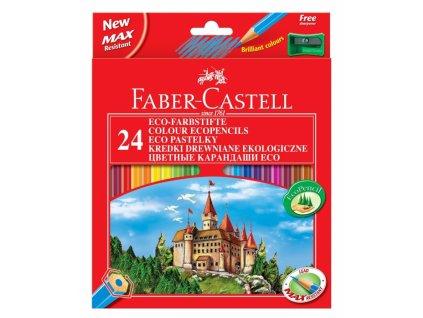 2840 1 pastelky faber castell eko 24 barev orezavatko
