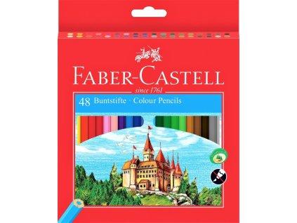 2846 2 pastelky faber castell eco 48 barev orezavatko