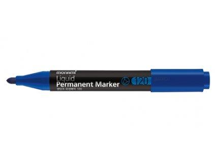2894 1 permanentni popisovac monami 120 kulaty 2 mm modry