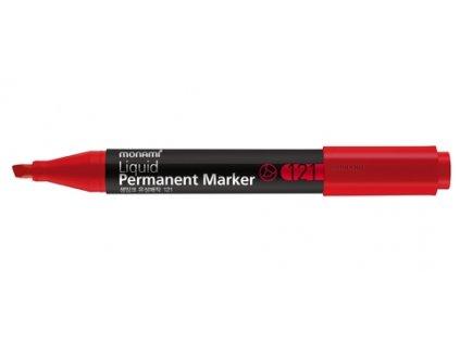 3062 1 permanentni popisovac monami 121 plochy 1 5 mm cerveny