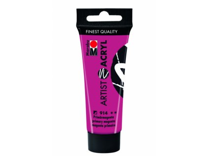 3086 akrylova barva marabu artist acryl 22 ml magenta 914