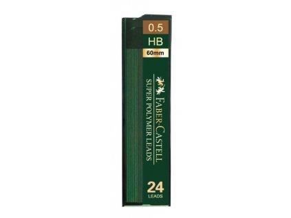 3146 1 tuhy super polymer 0 5mm hb 24ks