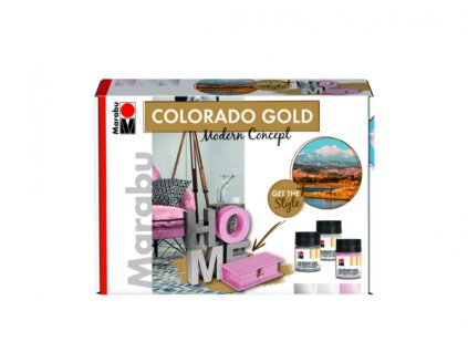 3299 marabu colorado gold set modern concept kovova barva