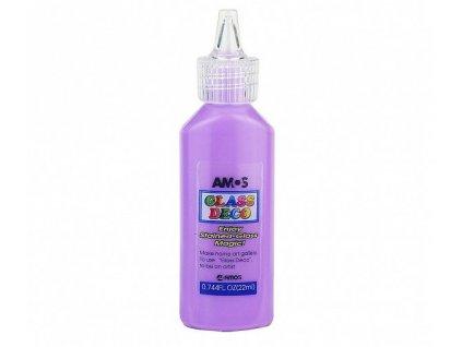 barva na sklo glass deco fialova