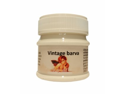3830 vintage akrylova kridova barva barva 105 mlecna