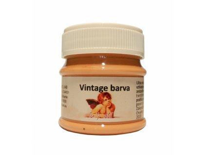 3845 vintage akrylova kridova barva barva 191 terracotta