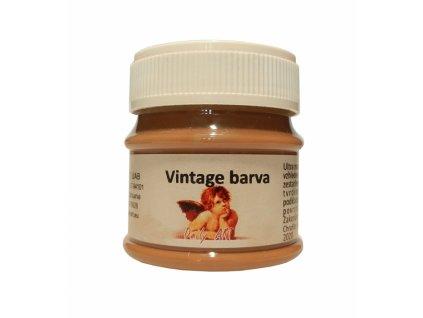 3848 vintage akrylova kridova barva barva 195 sepiova