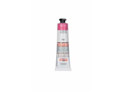 4304 akrylova barva koh i noor 40 ml magenta 0315