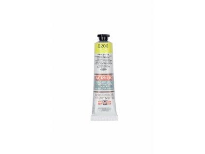 4313 akrylova barva koh i noor 40 ml zluta citronova 0200