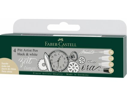 4526 6 pitt artist pen sada 3 1 ks bilych pigmentovych popisovacu