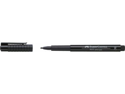 4595 1 umelecky popisovac pitt artist pen sc kaligraficky cerny