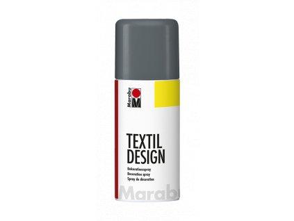 4874 barva na textil ve spreji marabu textil design spray 150 ml grafitova 179