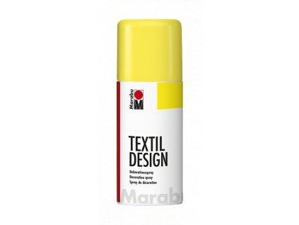 4877 barva na textil ve spreji marabu textil design spray 150 ml zluta slunecni 220
