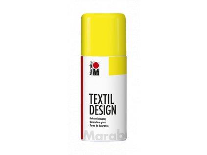 4880 barva na textil ve spreji marabu textil design spray 150 ml zluta neonova 321