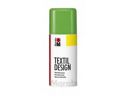 4889 barva na textil ve spreji marabu textil design spray 150 ml zelena neonova 365
