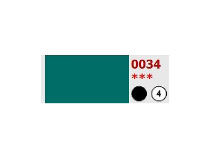 5459 olejova barva umton 20 ml 034 kobaltova zelen tmava