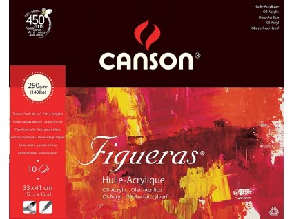 5765 papir na olej v bloku canson figueras oil 33 x 41cm