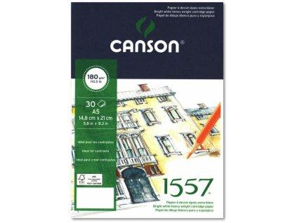 5858 canson 1557 blok lepeny 180g a5 30 listu