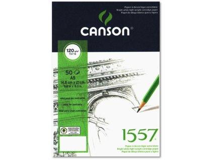 5864 canson 1557 blok spiralovy 120g a5 50 listu