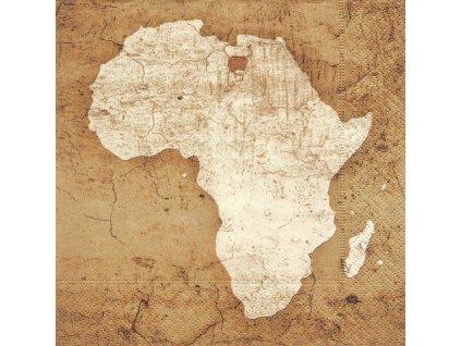6179 ubrousek 33x33 cm africa in sepia