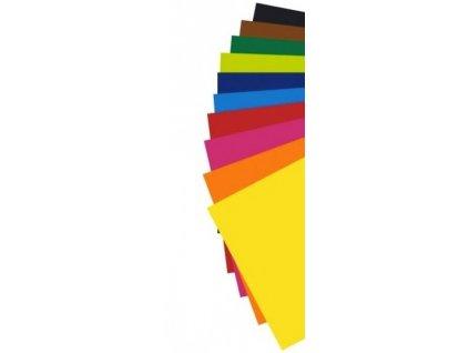 6353 barevne papiry a4 180g sada 50 archu mix barev