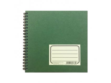 6671 zelenac skicak 18 x 18 cm 190 g m2 30 listu