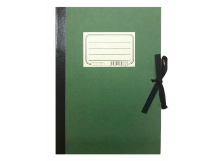 6680 bobo zelenac retro desky na vykresy s tkanici format a4